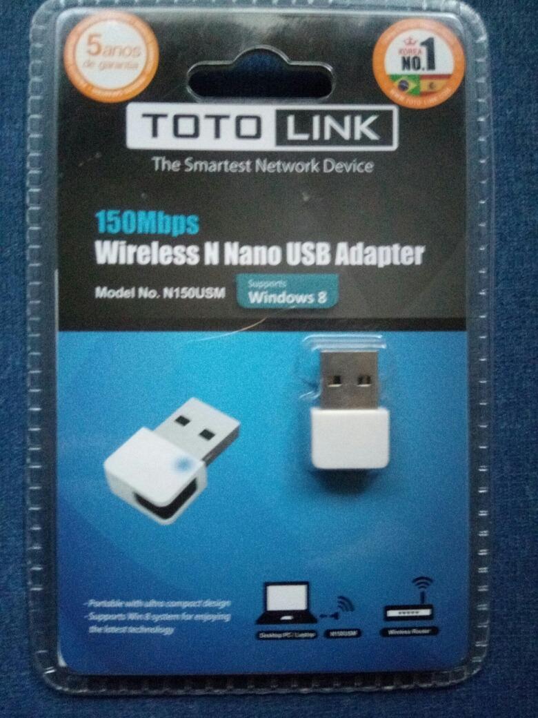 Adaptador Wireless Toto Link R 4900 Em Mercado Livre Totolink N150usm 150mbps N Mini Usb Adapter Carregando Zoom