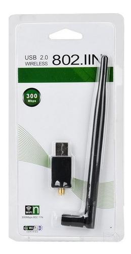 adaptador wireless usb 2.0 802iin 300mbps wifi rede novo