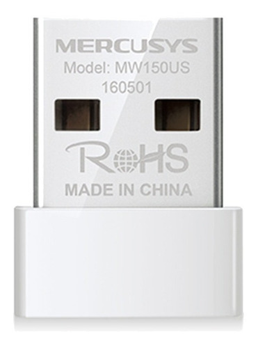 adaptador wireless usb nano mw150us mercusys 150mbps 802.11n