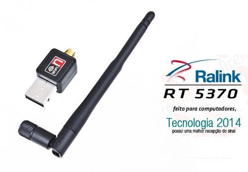 adaptador wireless usb sem fio antena wifi 300mbps