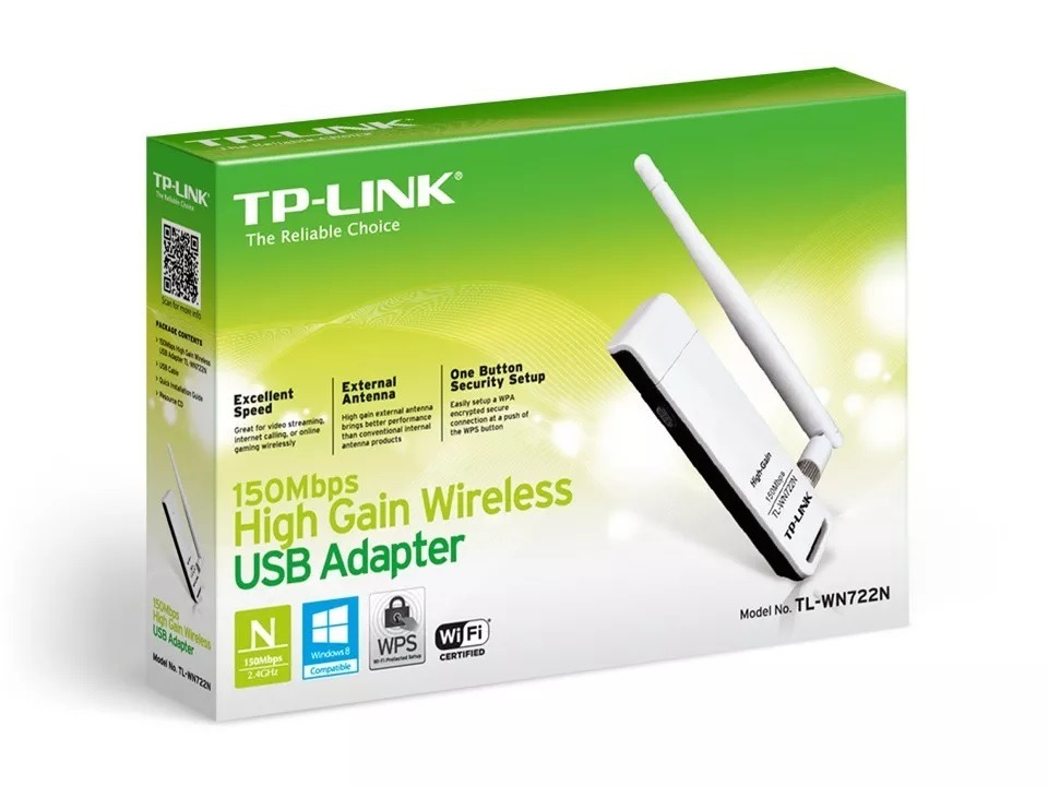 TP-LINK TL-WN722N V1 Wireless Adapter Windows 8 X64