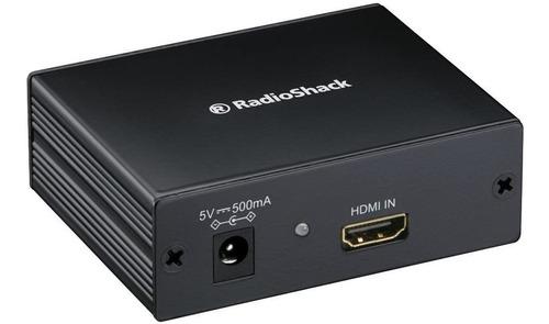 adaptador/convertidor hdmi a rf coaxial radioshack