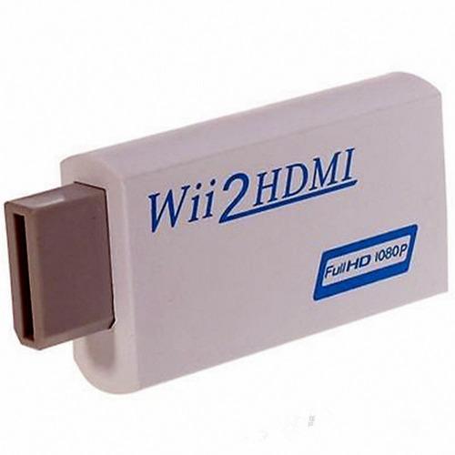 adaptador/convetidor wii/hdmi/full resolucion/wii2hdmi