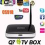 Smart Tv Box Android Kodi Bluetooth Quad Core Wifi Hdmi+cont
