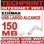 Internet Wifi Usb 150 Mb Largo Alcance Inalambrico Edimax