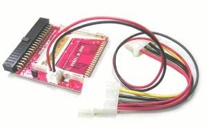 adaptadores de compact flash ( cf ) a ide (simple slot)