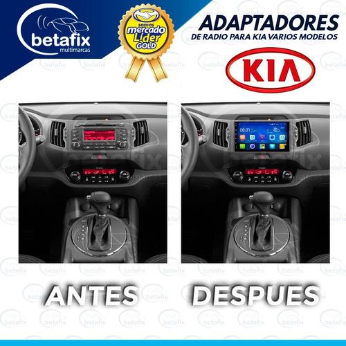 adaptadores metrakit de radio para kia betafix ec desde.