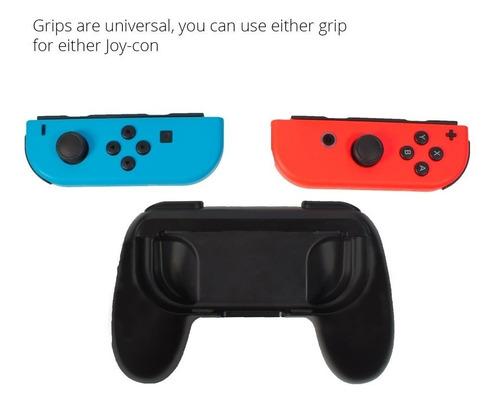 adaptadores nintendo switch joycon control grip orzly x2