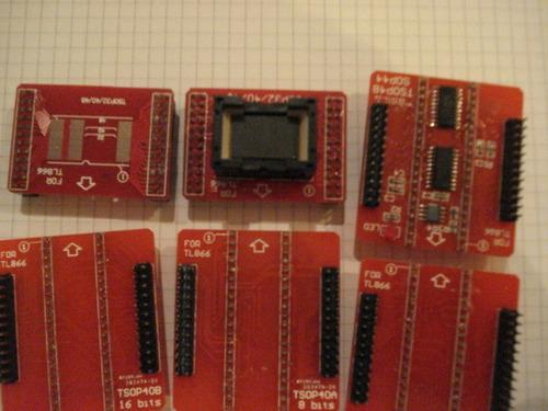 adaptadores  para programadores  universales   usb 40 pin
