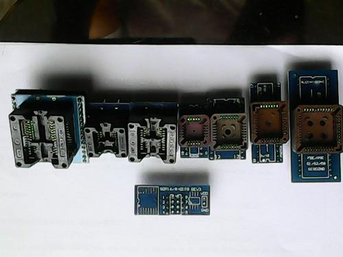 adaptadores socalos para programadores 8 unidades