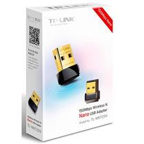 Adaptador Tp Link Nano Usb Wifi Red Inalambrica 150mbps Pc
