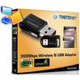 Adaptador Inalambrico Usb Trendnet 300mbps Tew-624ub Wifi