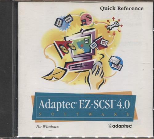 adaptec ez-scsi 4.0 software - novo e lacrado - b320