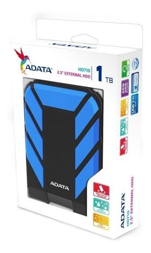 adata - disco duro externo hd710 1tb azul
