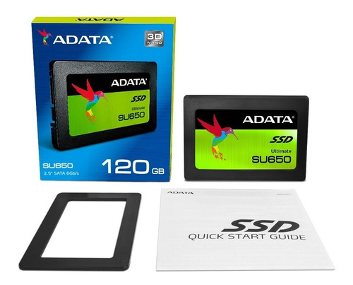 adata disco duro solido ssd sata laptop pc 120gb su650