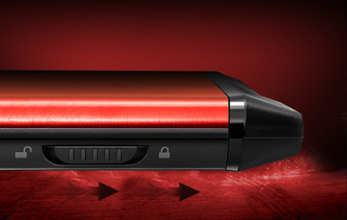 adata gabinete externo 2.5 ex500 usb 3.1 sata 6gb/s rojo