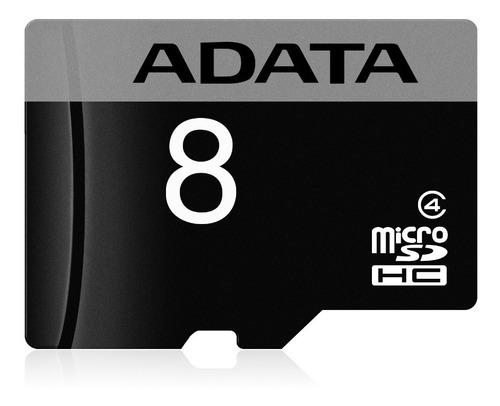 adata memoria micro sd hc 8gb clase 4 celulares tablets 4mb/s mayoreo barata 100% original nueva sellada