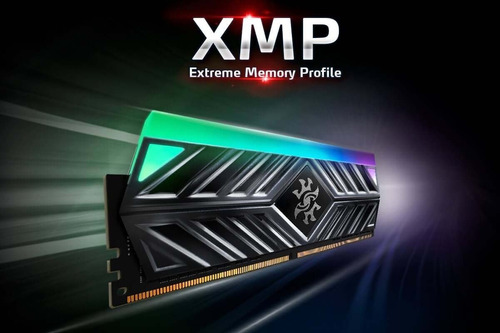 adata memoria ram gamer xpg spectrix d41 rgb 8gb 3200mhz