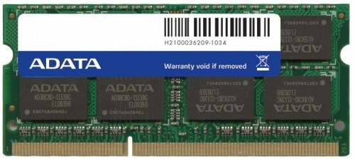 adata memoria ram para laptop ddr3 4gb 1333mhz so-dimm