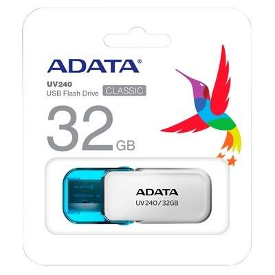 adata memoria usb 32gb 2.0 tapa archivos musica uv240
