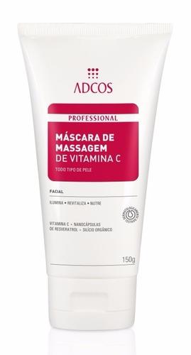 adcos mascara de massagem de vitamina c oferta!