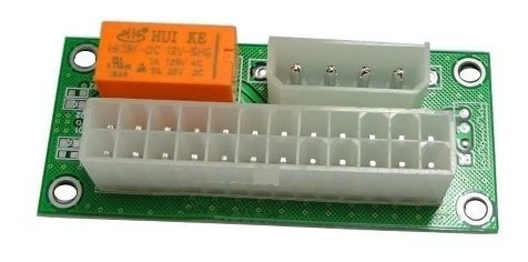 add2psu atx placa para ligar 2 fontes mineração rig eth btc