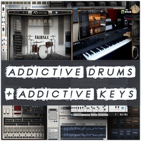 Addictive Drums 2 + Addictive Keys Para Win 32/64