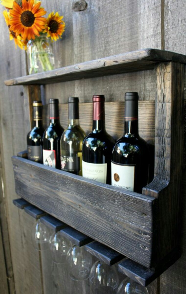 Adega madeira r stica porta ta as bar vinho bebidas drink for Bar para casa rustico