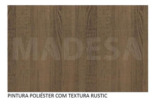 adega madesa glamy 20 cm - rustic