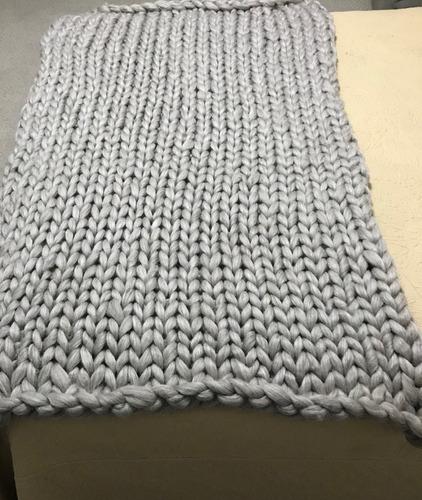 adelanto mantas pie de cama lana natural a pedido artesanal