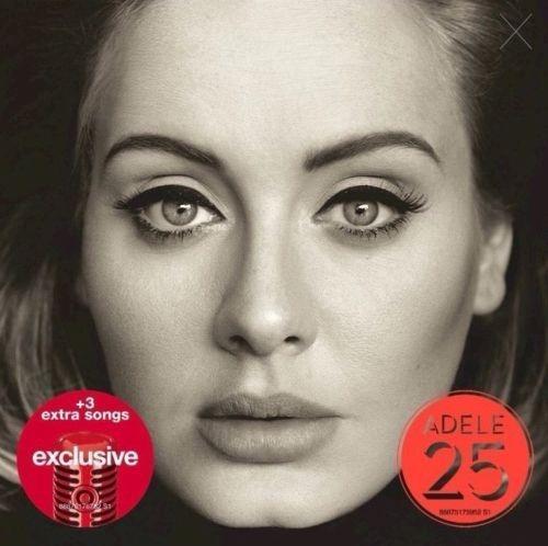 adele cd album 25 target edition  (importado)