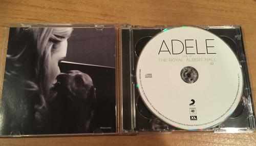adele the royal albert hall cd + dvd usados