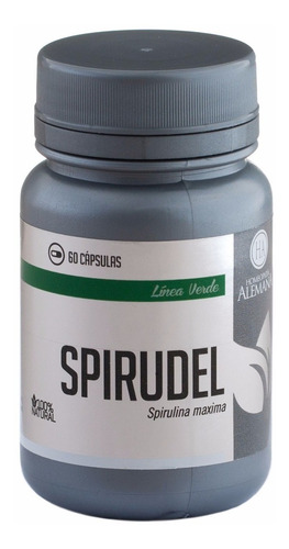 adelgazante spirulina spirudel homeopatia alemana 60 tab