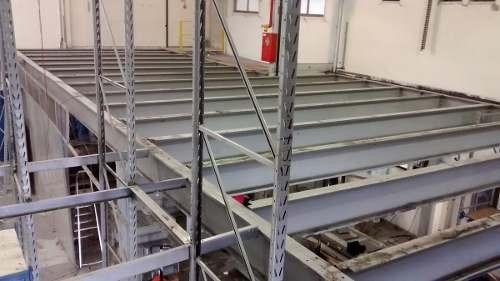 adequação montagem desmontagem porta palete mezanino estante