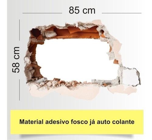 adesivo 123 decorativo parede buraco mod 16 pier