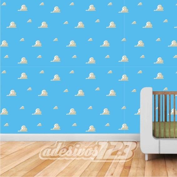 Qual O Artesanato Das Ostras ~ Adesivo 123 Parede Decorativo Textura Toy Story Nuvens 22 R$ 35,00 em Mercado Livre