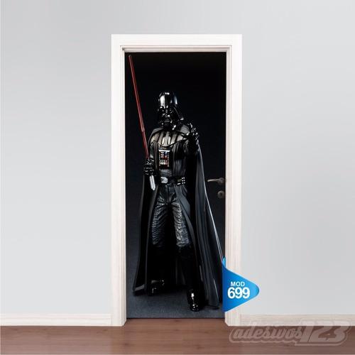 Adesivo Parede Dente De Leão ~ Adesivo 123 Porta Cinema Star Wars Darth Vader Mod 699 R$ 69,99 em Mercado Livre