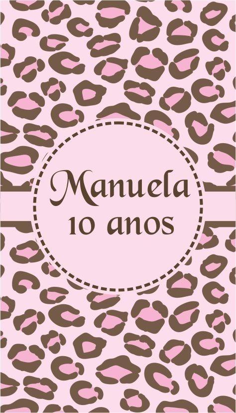 Armario Hemnes Segunda Mano ~ Adesivo 15 Anos Festa Oncinha Rosa Pink Folha A4 S Recorte R$ 6,00 em Mercado Livre