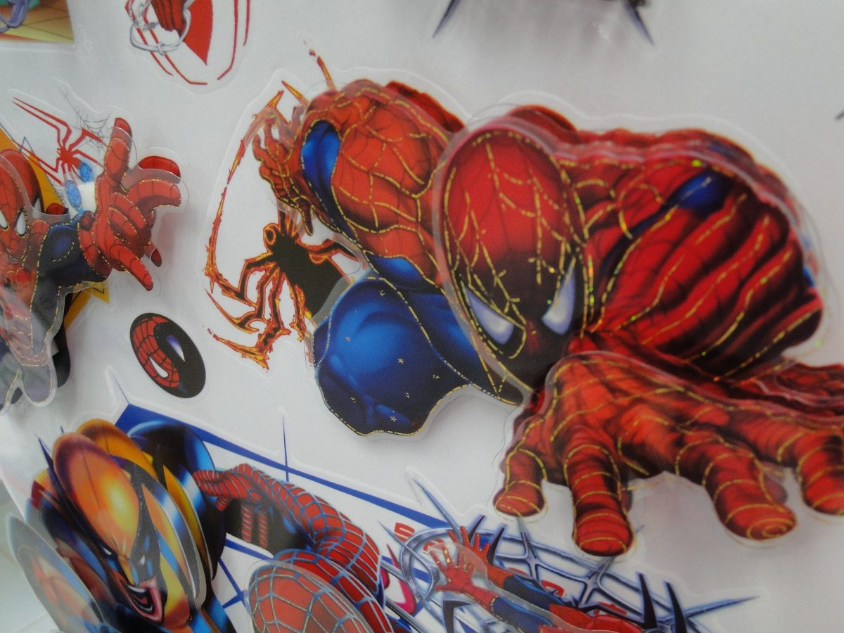 Aparador Redondo Para Sala ~ Adesivo 3d Homem Aranha enfeite De Festa Ou Parede Quarto R$ 11,90 em Mercado Livre