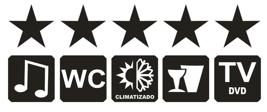 Armario De Cozinha Casas Bahia Pequeno ~ Adesivo 5 Estrelas Para u00d4nibus R$ 129,00 em Mercado Livre