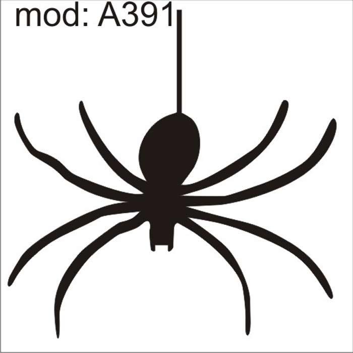 Adesivo A391 Desenho Abstrato Aranha Teia Arainha Decorativo R