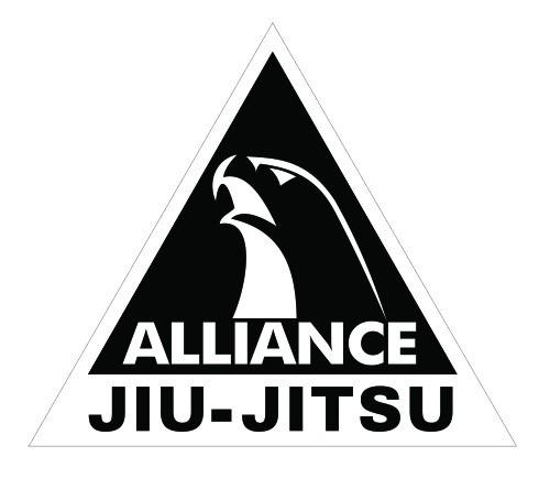 Advance Artesanato Osasco ~ Adesivo Alliance Jiu Jitsu Luta Artes Marciais Mma R$ 5