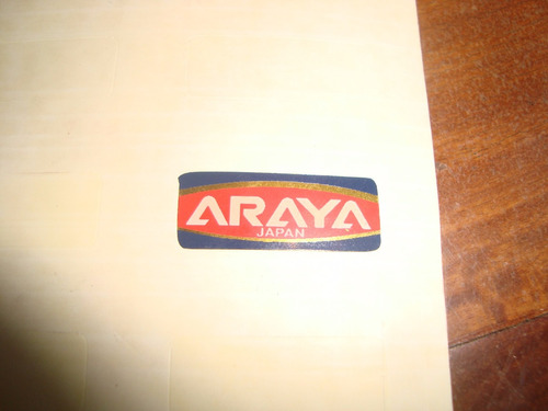 adesivo araya made  in japan caloi cross extra light