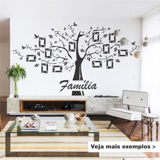 Adesivo Porta De Barbearia ~ AdesivoÁrvore Com Fotos Genealógica Família Para Sala R$ 120,00 em Mercado Livre