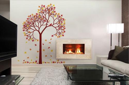 adesivo árvore de outono colorida - mudo minha casa