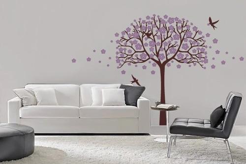 adesivo árvore de primavera - mudo minha casa