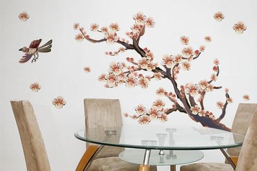 adesivo árvore oriental - mudo minha casa