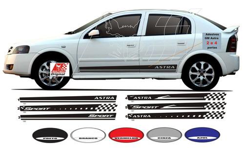 adesivo astra kit faixa lateral 2 4 portas sport hatch sedan