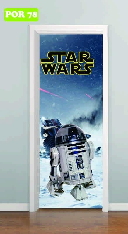 Adesivo Parede Dente De Leão ~ Adesivo Auto Colante Porta Star Wars Yoda Darth Vader R2d2 R$ 59,90 em Mercado Livre