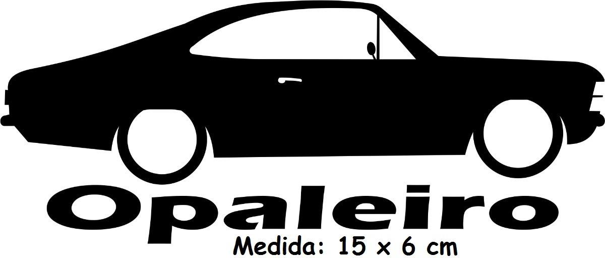 Adesivo Automotivo Opaleiro Clube Opala Chevrolet Gm R 12 00 Em